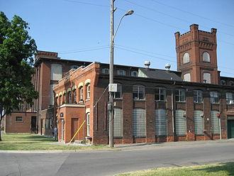 Sherman Avenue (Hamilton, Ontario) - 270 Sherman (former Imperial Cotton Company cotton mill), Sherman Ave. North