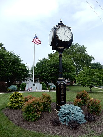 Shillington, Pennsylvania - Image: Shillington Town Hall Area, Berks Co PA 03