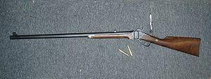 Single-shot - Shiloh Sharps Model 1874 Hartford in .50-90 Sharps