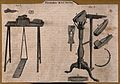 Shoemakers; machinery used in the making of shoes. Engraving Wellcome V0023706.jpg