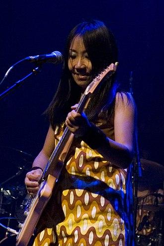 Naoko Yamano - Yamano performing live in Manhattan at the Blender Theater, November 19, 2007