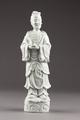 Shou lao, odödlighetens och det långa livets gud i porslin gjord i Kina på 1800-talet - Hallwylska museet - 95590.tif
