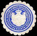 Siegelmarke Grossh. Oldenb. Direction der Strafanstalten zu Vechta W0307817.jpg