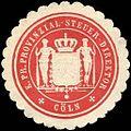 Siegelmarke K. Pr. Provinzial - Steuer - Direktion - Köln W0214973.jpg