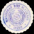 Siegelmarke Magistrat des Fleckens Iburg W0229381.jpg