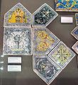 Siena, mattonelle dal palazzo del magnifico petrucci a siena, 1509 ca, 07.JPG