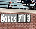 Sign counts down to Barry Bonds 713th home run.jpg