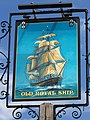 Sign for the Old Royal Ship - geograph.org.uk - 1382503.jpg