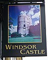 Sign for the Windsor Castle - geograph.org.uk - 856817.jpg
