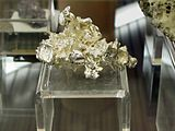 Silver native etched out of Calcite - Hua Gans Hui, Liaoning province, China.jpg