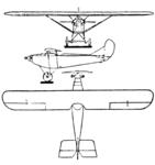 Simůnek VBS-b 3-view Le Document aéronautique February,1928.png