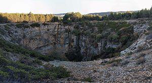Frías de Albarracín - Image: Sima de Frias