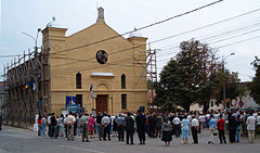 Simleu holocaust museum dedication.jpg