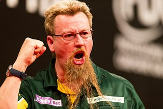 Simon Whitlock Australian darts player