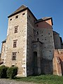 Simontornya Castle. Listed 8725. Old tower (SE). - Hungary.JPG