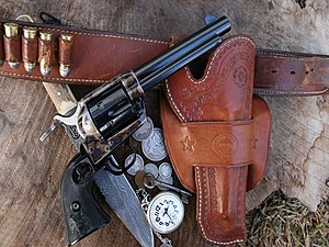 Handgun holster - 19th/Early 20th Century Single Loop Holster