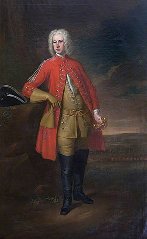 John Cope (British Army officer) - John Cope, ca. 1730