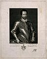 Sir Walter Raleigh. Line engraving by P. Audinet, 1803, afte Wellcome V0004886.jpg