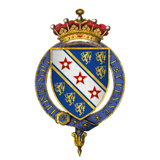 William de Bohun, 1st Earl of Northampton - Arms of Sir William de Bohun, 1st Earl of Northampton, KG
