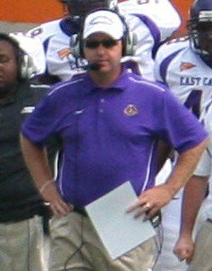 East Carolina Pirates football - Coach Holtz