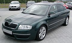 Škoda Superb I po liftingu