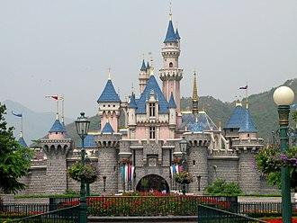 Sleeping Beauty Castle - Sleeping Beauty Castle at Hong Kong Disneyland