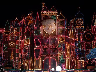 "It's a Small World - ""It's a Small World holiday"" lighting display"