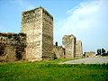 Smederevo fort southern wall.JPG