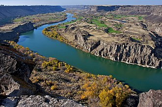 Canyon - Snake River Canyon, Idaho