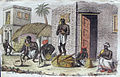 """Snake charmers,"""" by Giulio Ferrario, from 'Il costume antico e moderno...', Florence,1824.jpg"""