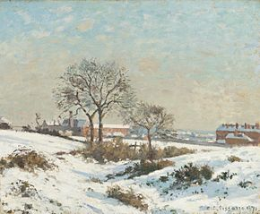 Snowy Landscape at South Norwood