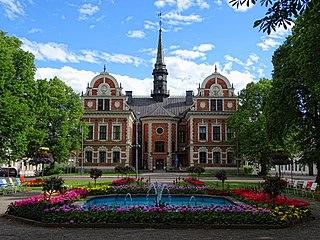 Söderhamn Place in Hälsingland, Sweden