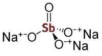 Sodium orthoantimonate2D.png