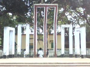 Birampur Upazila - Sohed Minar of Birampur