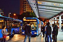 Foto di autobus a Piazza Solomou a Nicosia
