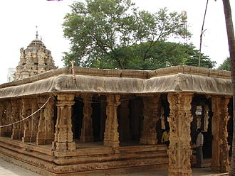Kolar district - Someshvara Temple, an example of Vijayanagara architecture