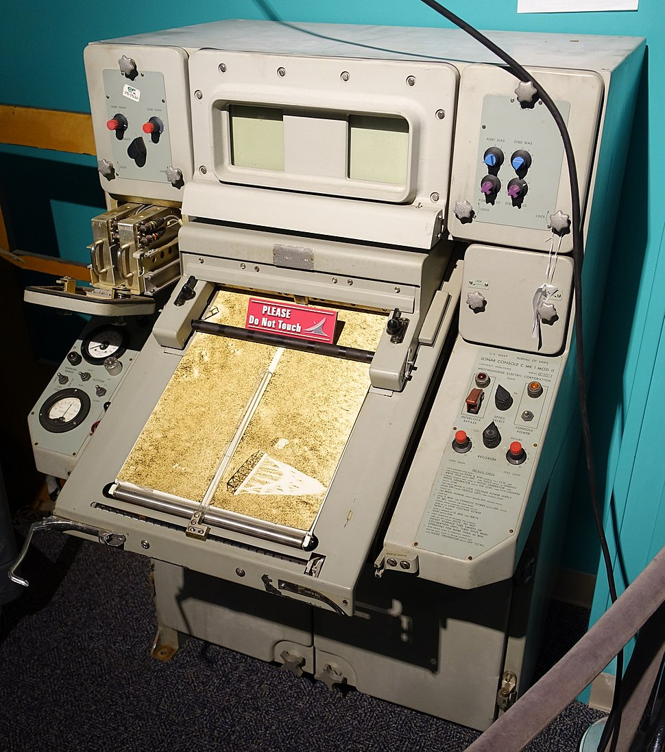 Sonar Console C Mk 1 Mod 0, Westinghouse Electric Corporation - National Electronics Museum - DSC00484