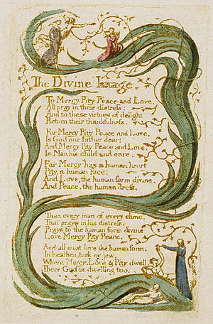 Image result for the divine image by william blake