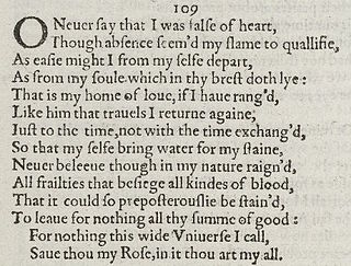 Sonnet 109 poem by William Shakespeare