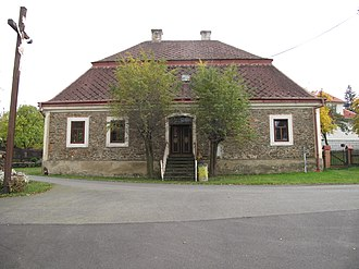 Sosnová (Opava District) - Image: Sosnová (okres Opava), fara