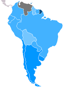 List Of South American Countries By Gdp Ppp Per Capita Wikipedia