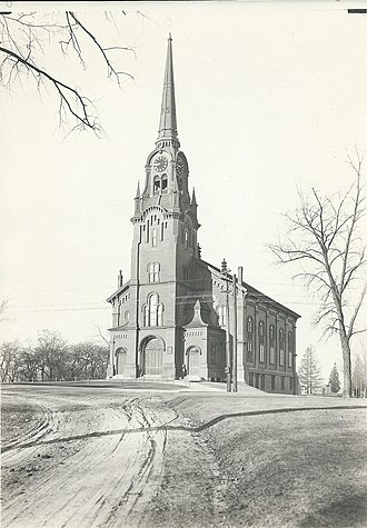 South Church, Andover, Massachusetts - Photograph of the South Church c. 1920