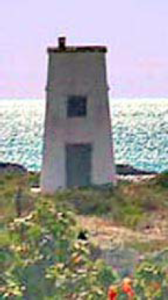 Der Leuchtturm South Caicos Light