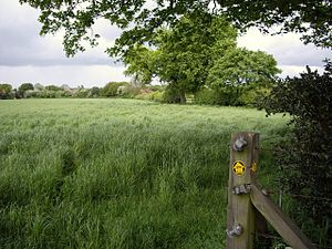 Hough, Cheshire - Image: South Cheshire Way, Hough