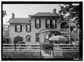 South Elevation - C. W. Lewis House, 27 South Seventh Street, Fernandina Beach, Nassau County, FL HABS FLA,45-FERB,5-1.tif