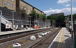 South Hampstead railway station MMB 03.jpg