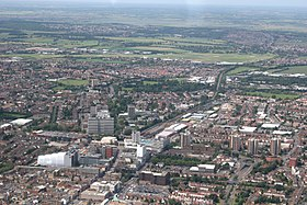 Aerial view of Southend-on-Sea