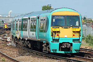 Southern 456008 departs Clapham Junction.jpg