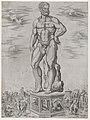 Speculum Romanae Magnificentiae- Hercules Colossus at Padua (L'Ercole di casa Benavides a Padova) MET DP870577.jpg