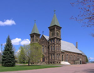 Dieppe, New Brunswick - Saint Anselme Church - The current building was erected in 1900.